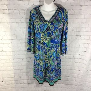 LAUNDRY BY SHELLI SEGAL LA DRESS SMALL LIKE NEW